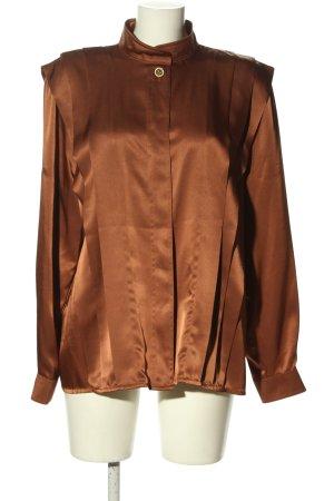 Alexander Blusa de manga larga marrón elegante