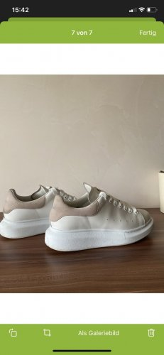 Alexander McQueen Heel Sneakers white-light pink