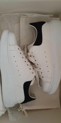 Alexander McQueen Slip-on Sneakers white-black