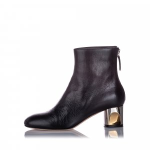 Alexander McQueen Ankle Leather Boot