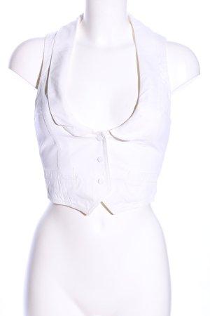 Alexander McQueen Waistcoat white casual look