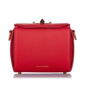 Alexander McQueen Box 16 Leather Crossbody Bag