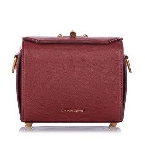 Alexander McQueen Box 19 Leather Crossbody Bag