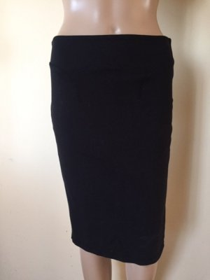 Alexander McQueen Pencil Skirt black rayon