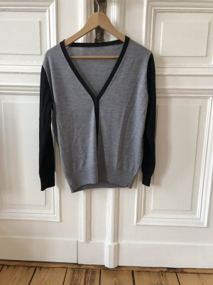Alexander McQueen Wool Jacket black-silver-colored