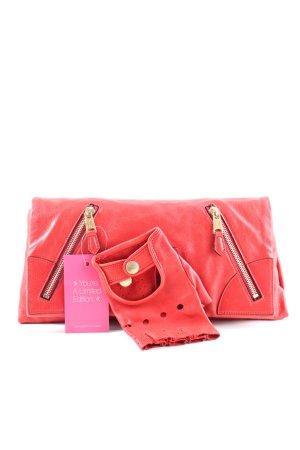 Alexander McQueen Clutch rood casual uitstraling