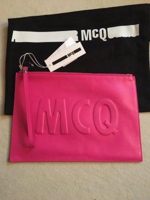 Alexander McQueen Clutch multicolored leather