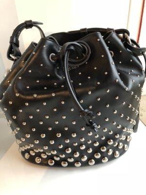 Alexander McQueen Shoulder Bag black leather