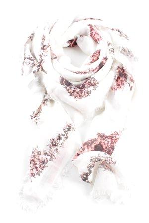 Alexander McQueen Pañoleta estampado con diseño abstracto look casual