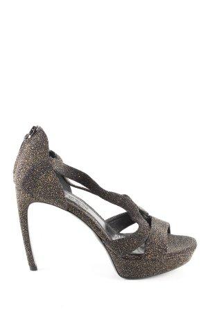 Alexander McQueen High Heels mehrfarbig extravaganter Stil