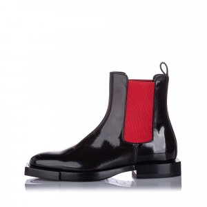 Alexander McQueen Hybrid Chelsea Leather Boot