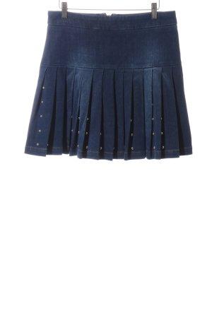 Alexander McQueen Denim Skirt blue casual look