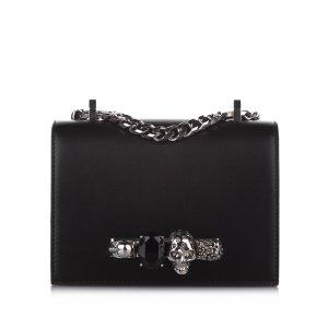 Alexander McQueen Crossbody bag black leather