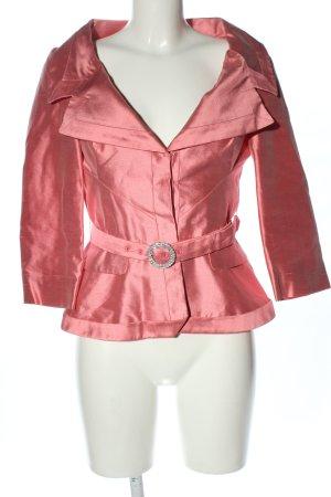 Alexander McQueen Klassischer Blazer różowy Ekstrawagancki styl