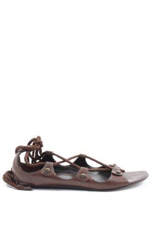 Alexander McQueen Komfort-Sandalen braun Casual-Look