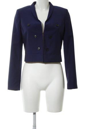 Alexander McQueen Kurz-Blazer blau Casual-Look