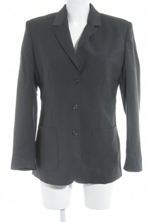 Alexander McQueen Kurz-Blazer anthrazit Business-Look