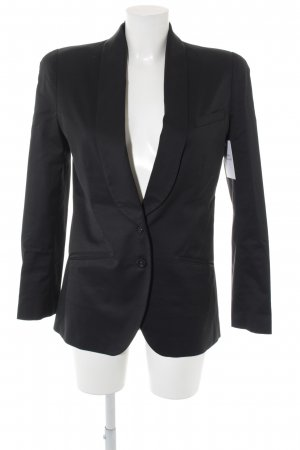 Alexander McQueen Kurz-Blazer schwarz Business-Look