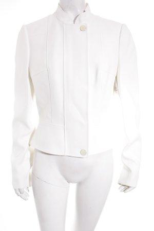 Alexander McQueen Veste courte blanc cassé élégant
