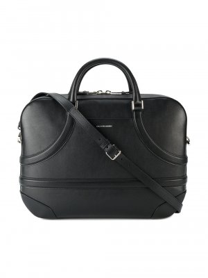 Alexander McQueen Leather Harness Briefcase