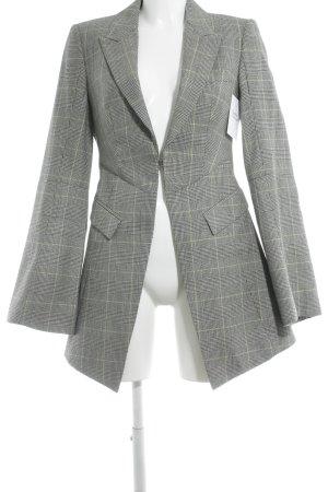 Alexander McQueen Long Blazer glen check pattern business style