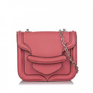 Alexander McQueen Sac bandoulière rosé cuir