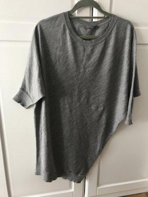 Alexander McQueen Long Sweater grey wool