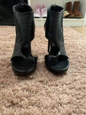 Alexander McQueen Sandały korkowe  czarny