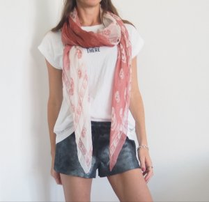 Alexander McQueen Silk Scarf multicolored
