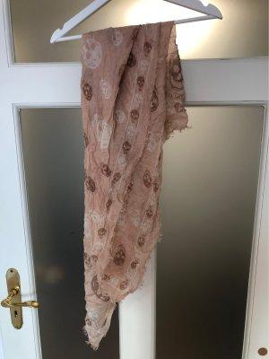 Alexander McQueen Pashmina rosa empolvado-rosa Seda