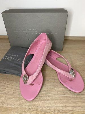 Alexander McQueen Strapped Sandals pink