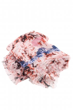 Alexander McQueen Shoulder Scarf abstract pattern elegant