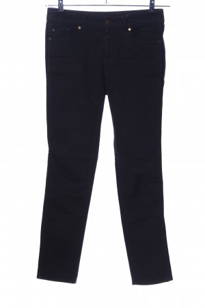 Alexander McQueen Skinny Jeans schwarz Business-Look