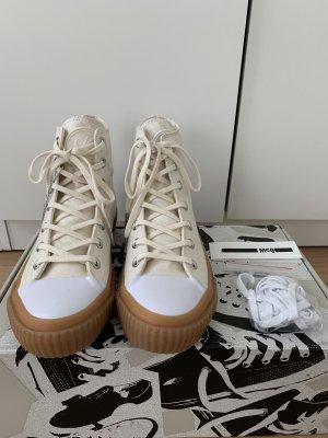 Alexander McQueen Sneaker alta multicolore