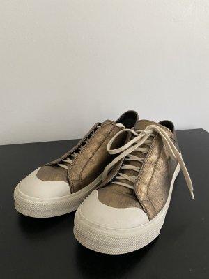 Alexander McQueen Sneaker con tacco multicolore