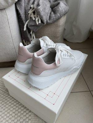Alexander McQueen  bianco-rosa pallido