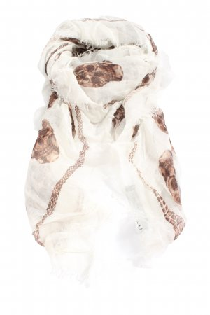 Alexander McQueen Summer Scarf themed print casual look