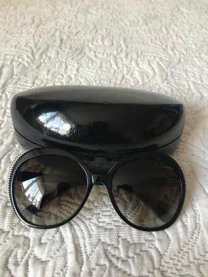 Alexander McQueen Gafas de sol redondas multicolor