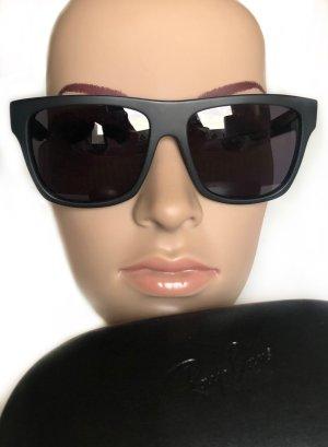 Alexander McQueen Sonnenbrille rechteckig schwarz