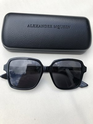 Alexander McQueen Sonnenbrille schwarz