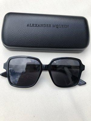 Alexander McQueen Square Glasses black