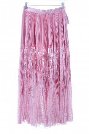 Alexander McQueen Lace Skirt light pink-pink extravagant style