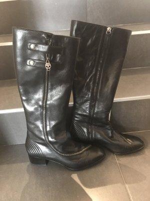 Alexander McQueen Shoes black leather