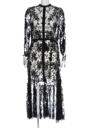 Alexander McQueen Beachwear black cable stitch casual look