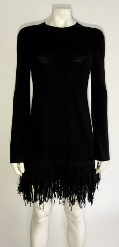 Alexander McQueen Knitted Dress black