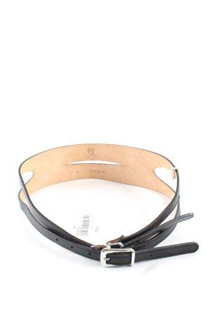 Alexander McQueen Cintura vita nero stile professionale