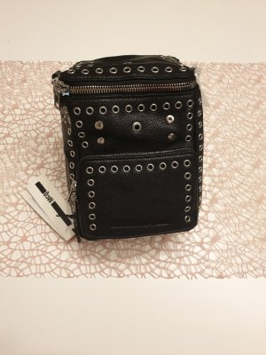 Alexander McQueen Plecak na kółkach czarny