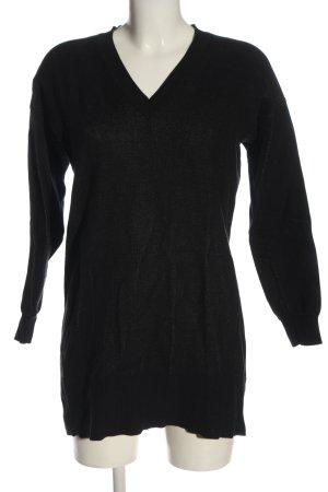 Alexander McQueen Sweter z dekoltem w kształcie litery V czarny W stylu casual