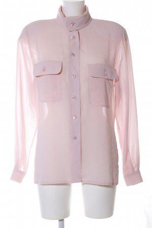 Alexander Transparenz-Bluse pink Business-Look