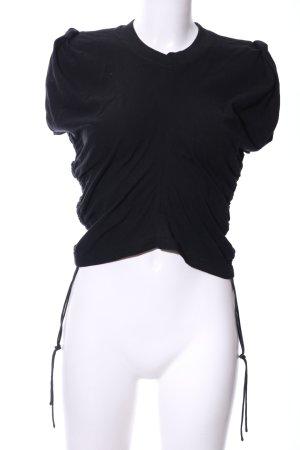Alexander Wang Cropped shirt zwart casual uitstraling